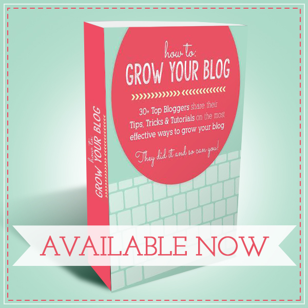 How to Grow Your Blog Book