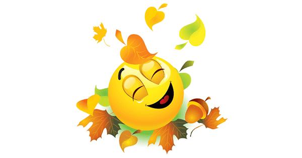 autumn emoticon