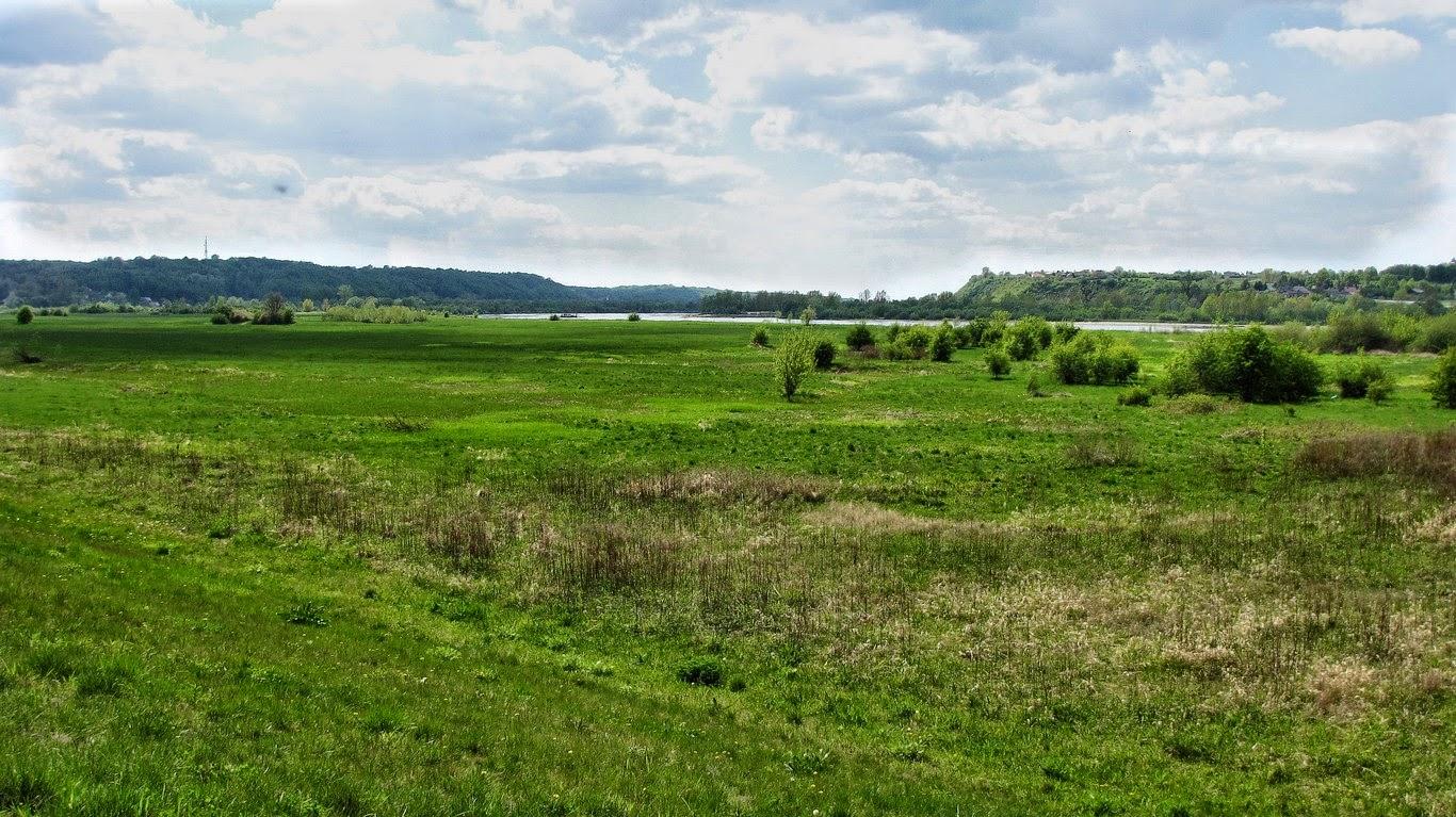 Krajobrazy w okolicach Kazimierza Dolnego