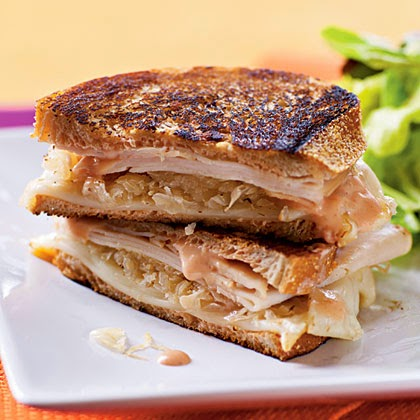 Turkey Reuben Panini ~ Just Easy !!