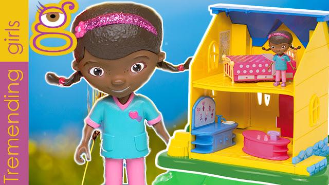 Casa Clínica de la Doctora Juguetes - Doc McStuffins Clinic toy - juguetes Doctora juguetes