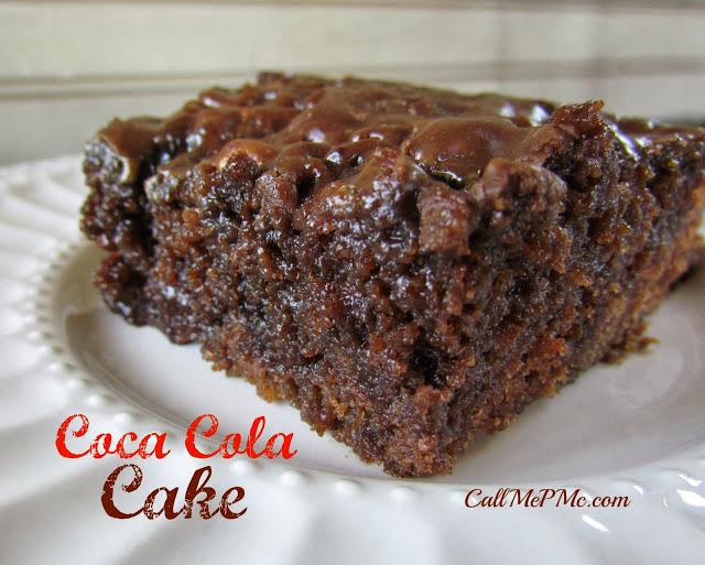 coca cola poke cake