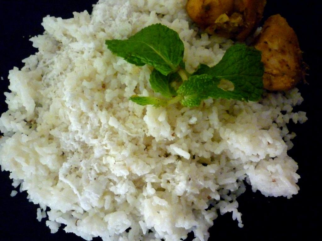 delicious coconut rice from kerala,srilankan rice