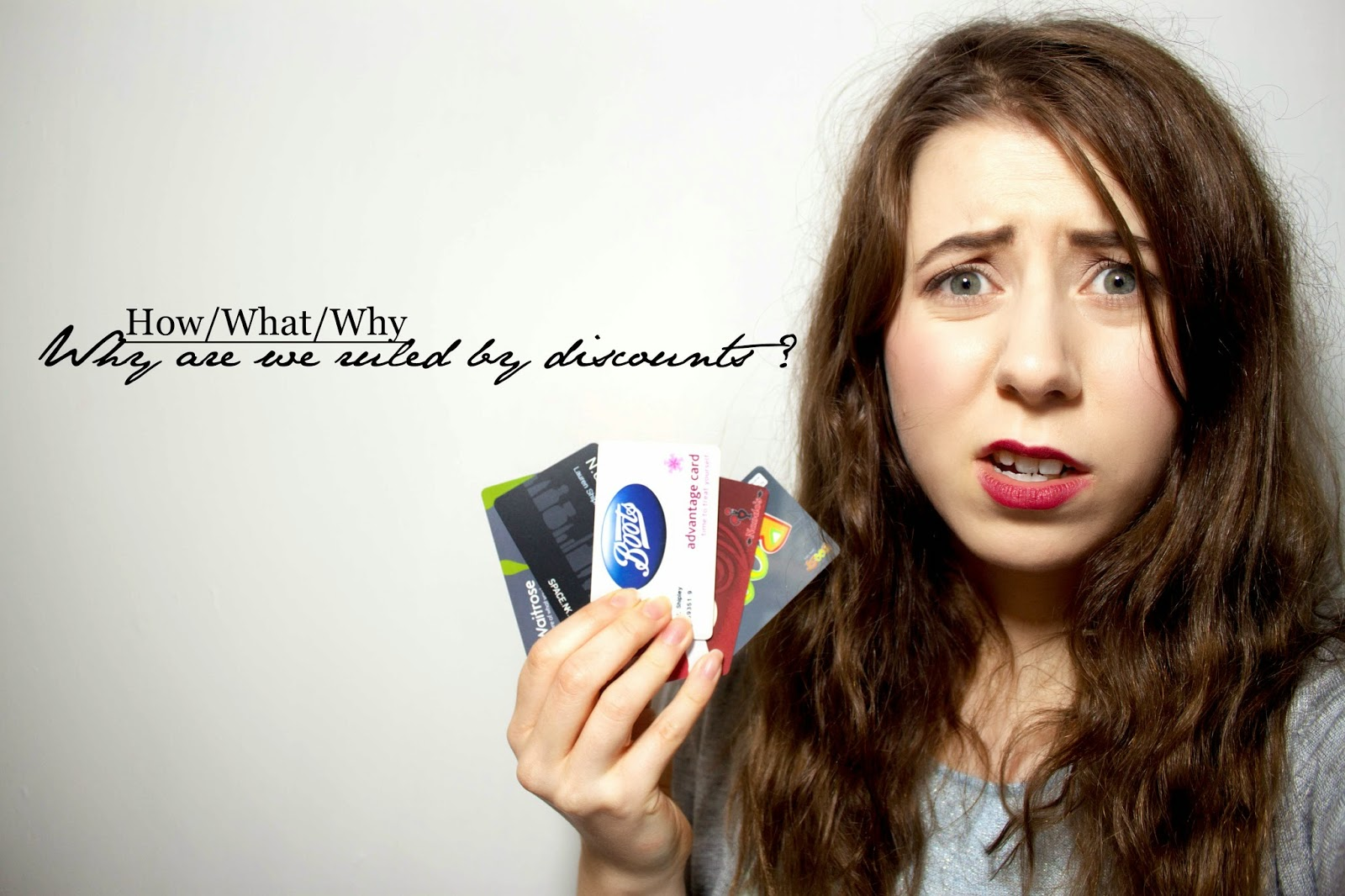 HOW/WHAT/WHY : WHY ARE WE RULED BY DISCOUNTS ?