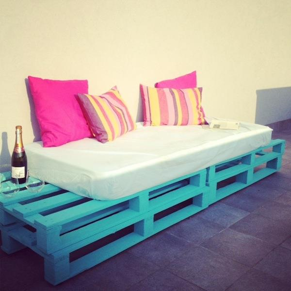 Diy pallet sofa outdoor daybed idees and solutions Daybed sofa couch