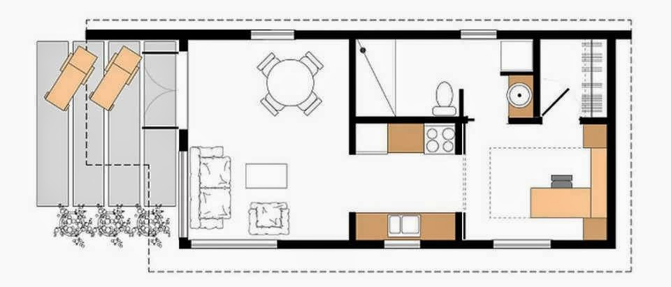 Small And Minimalist House Design On Center Of City Make
