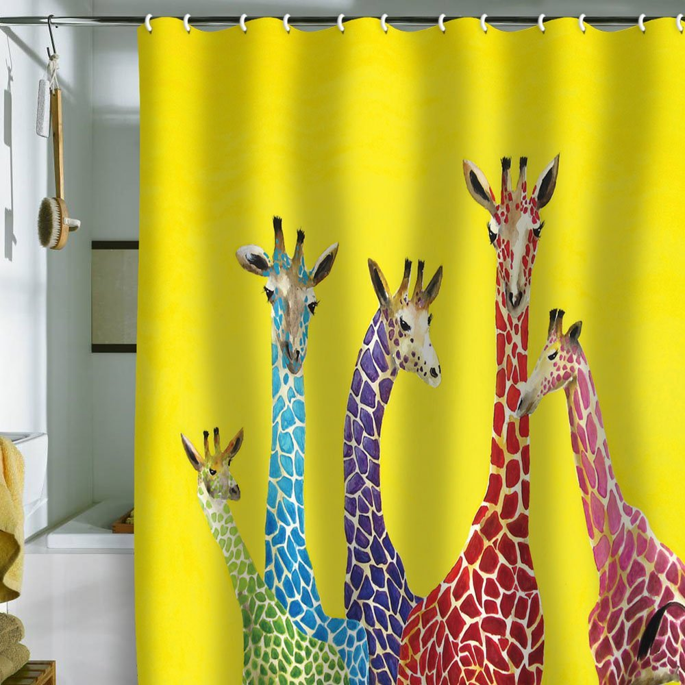 Funky shower curtains -  Inspiration Fun Shower Curtains