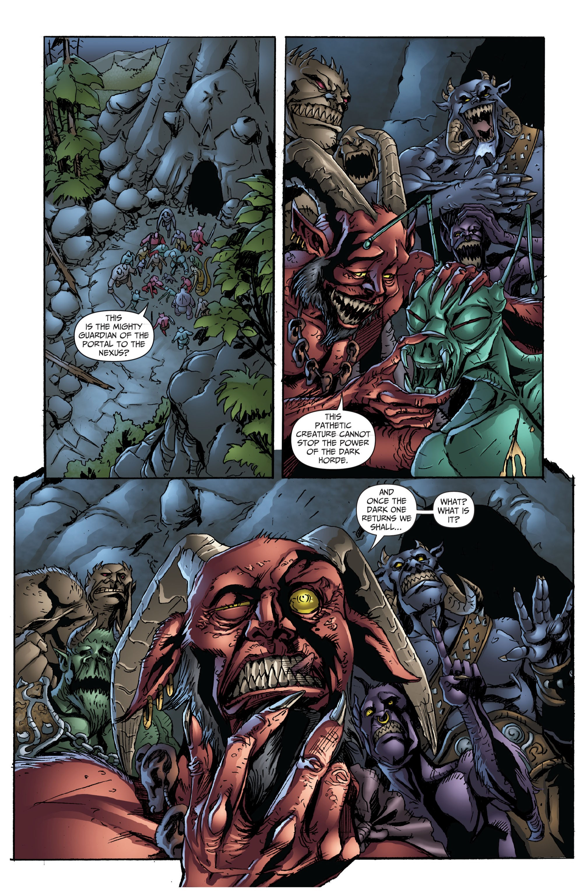 Grimm Fairy Tales (2005) Issue #72 #75 - English 3