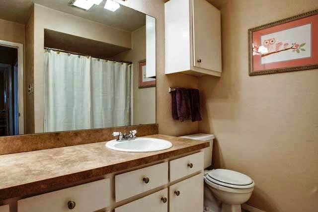 Ideal bathroom before