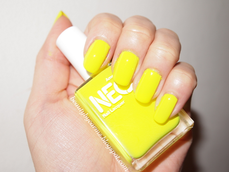 American Apparel Nails - Neon Yellow | BEAUTY BY CARMZ