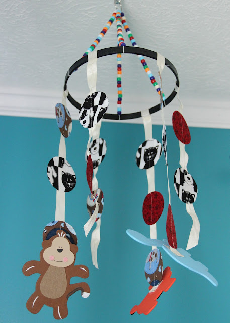 DIY baby mobile