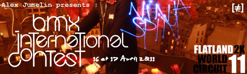 Ninja spin 2011