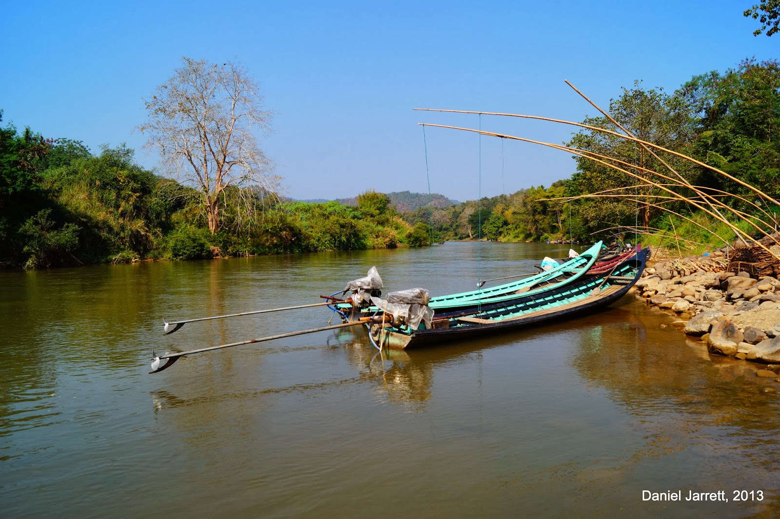 Pai River Mae Hong Son
