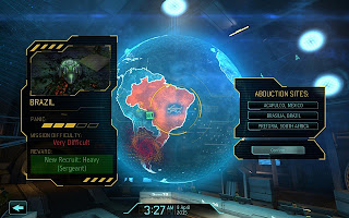 Xcom enemy Unknown 2012 Geoscape