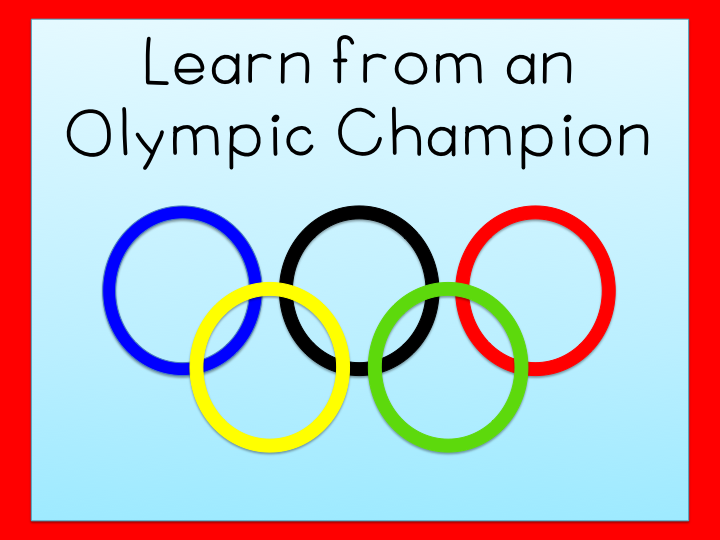 Learn goal-setting from the Olympics