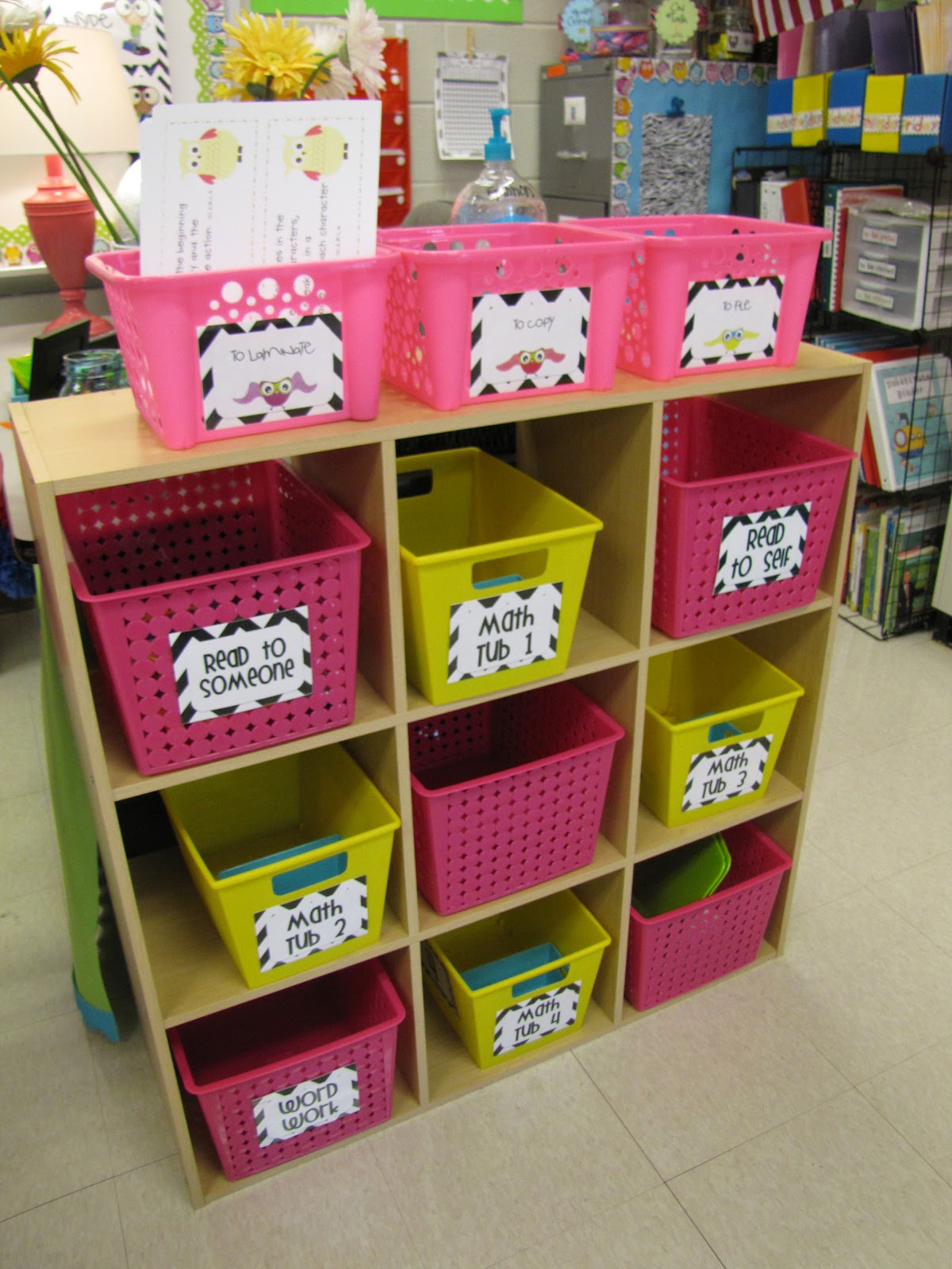 Classroom Storage Ideas ~ My classroom part the lemonade stand