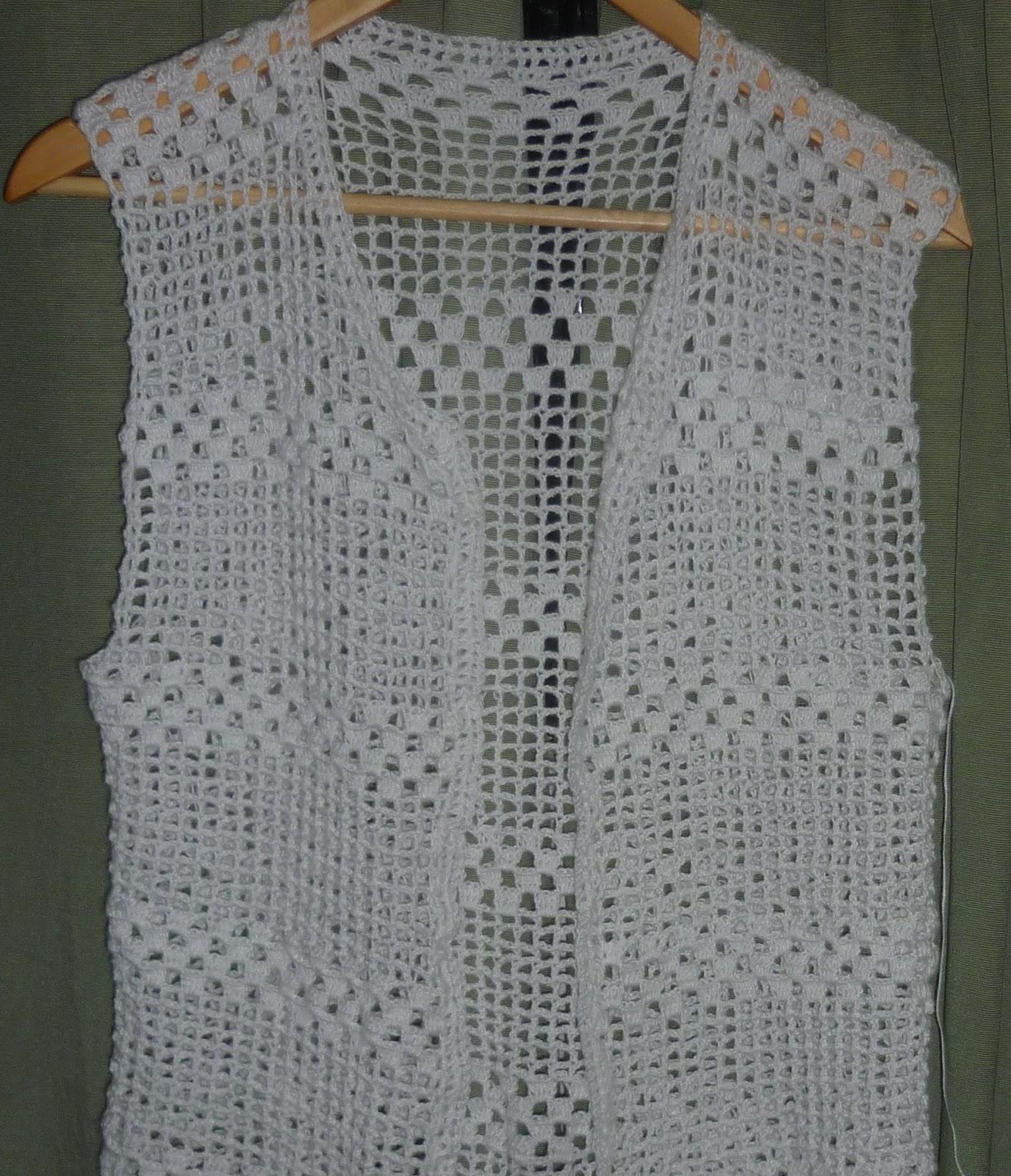 Dise o artesanal chalecos de hilo for Disenos de chalecos