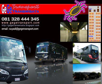 Bus Pariwisata Yogyakarta Gege Transwisata: GeGe Transport ...