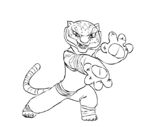 Kung Fu Panda Mantis Coloring Pages 2