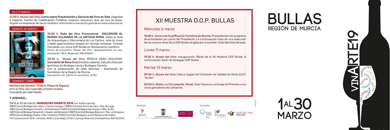 Vinarte Bullas 2019