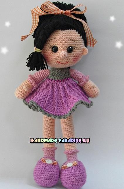 Амигуруми куколка Candy Doll крючком