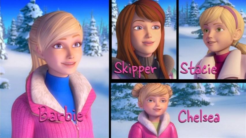 Barbie: Nuevas imagenes de Barbie una navidad perfecta