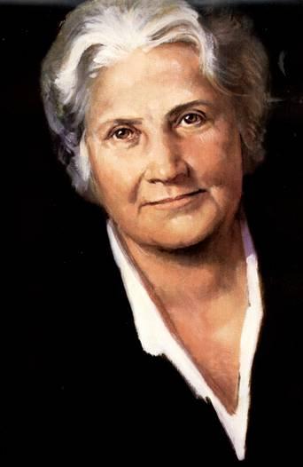 maria montessori nasceu na itália em 1870 filha única de um casal de ...