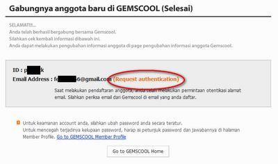 Daftar Gemscool PB