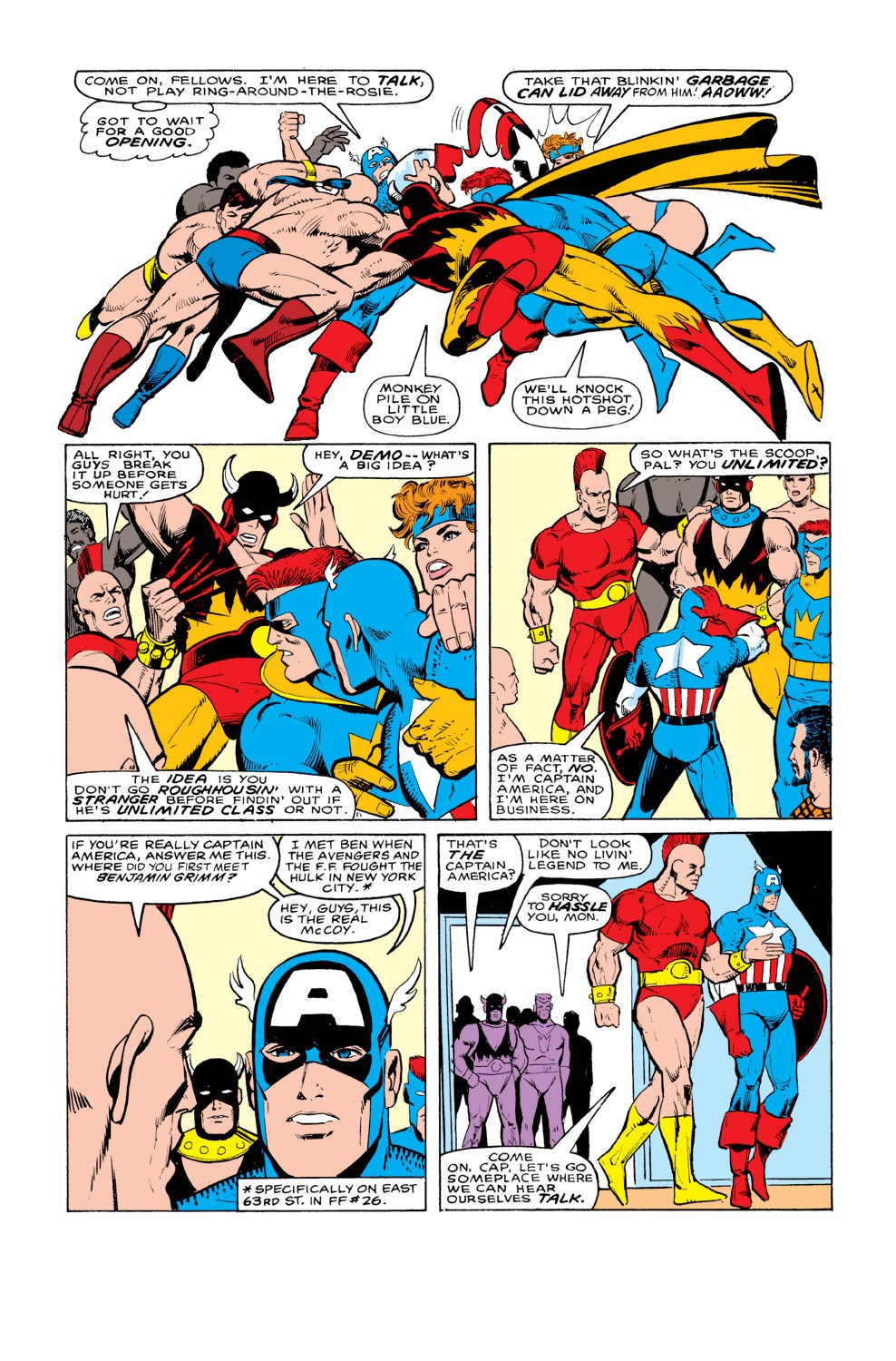Captain America (1968) Issue #328 #257 - English 6