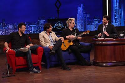 Bruno, Leandro, Kiko e Danilo (Crédito: Leonardo Nones/SBT)