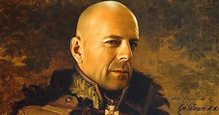 Steve Payne. Retratos de celebrities convertidos en generales rusos