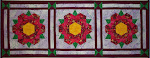 Colonial Rose Table Runner