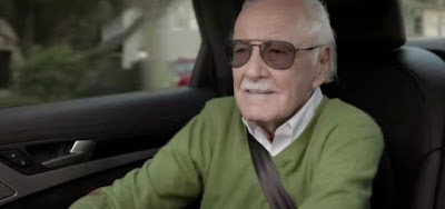 Audi S8 ad with Stan Lee as a cameo
