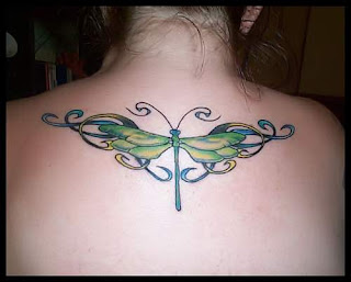Dragonfly Tattoo Ideas for Girls - Dragonfly tattoo photo gallery