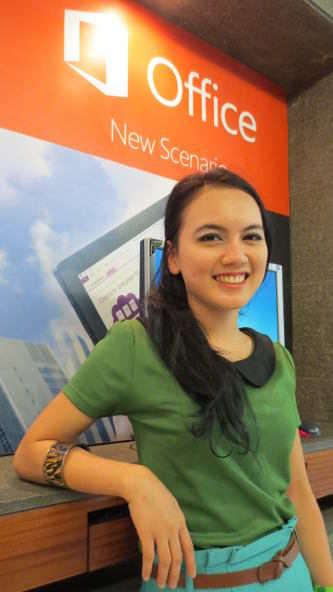 Dila, Gadis Belia di Balik Microsoft Office