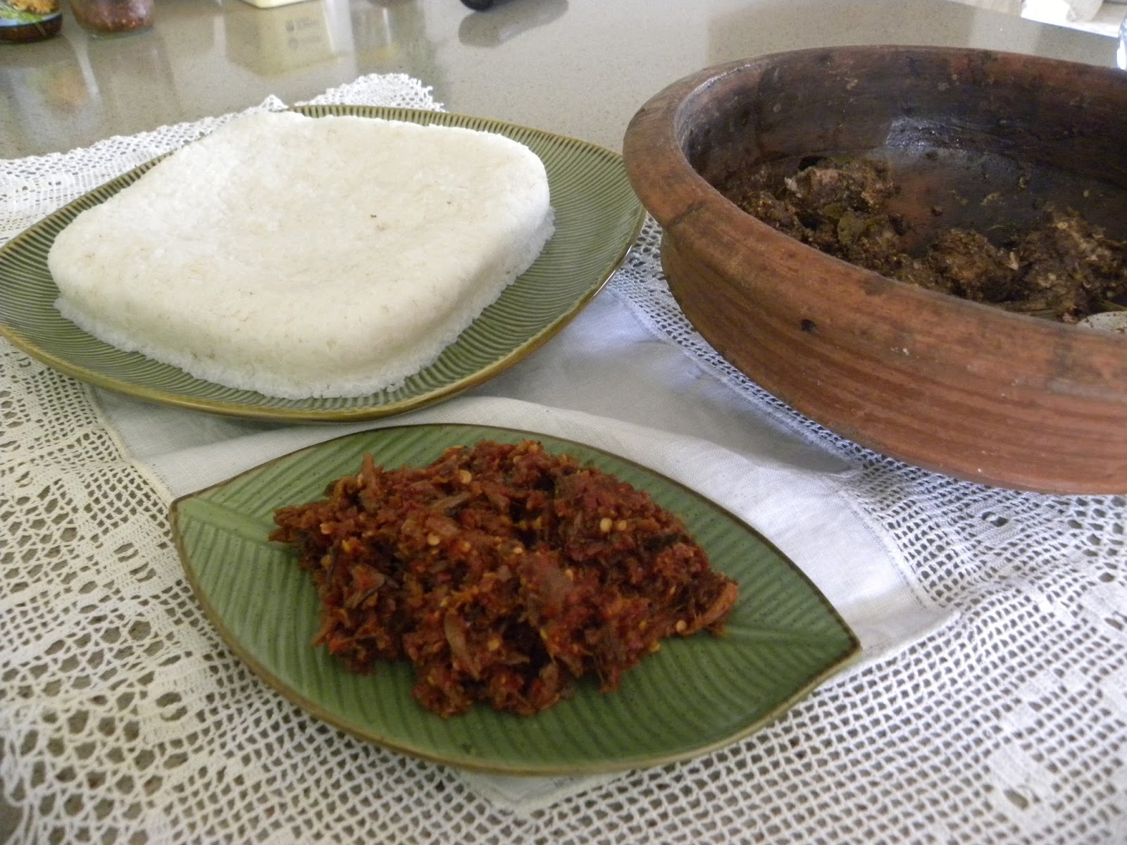 Ammis kitchen easy to make milk rice kiribath in a rice cooker kiribath for breakfast fit for royalty with fish ambul thiyal and katta sambal forumfinder Images