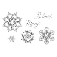 StampinUP! stamp set: Snowflake Soiree