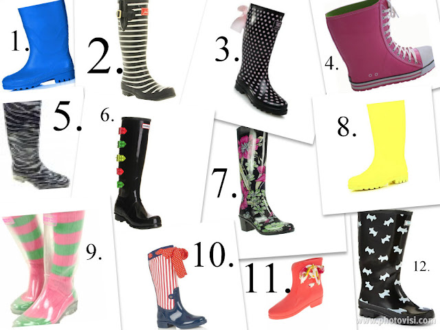 Top 12 Wellies - wellingtons - wellys - boots - rubber boots