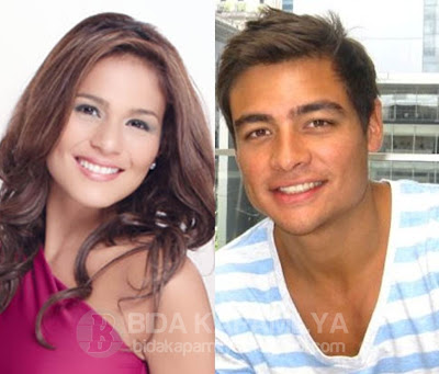 Iza Calzado and boyfriend Fil-British Ben Wintle