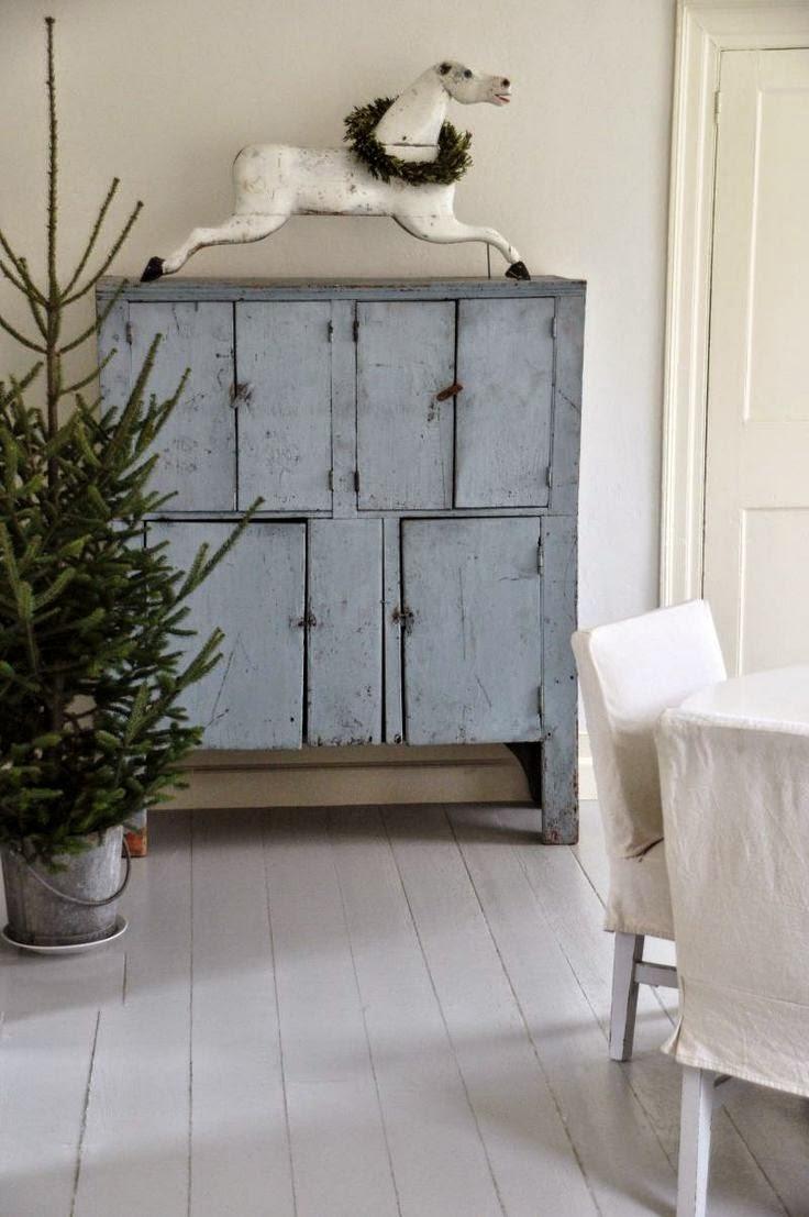 vintage decoración navidad