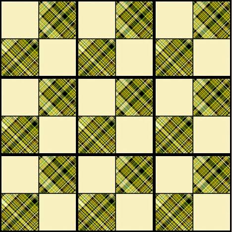 Artbyjean Tea Bag Tiles Checkerboard Style Tea Bag Tiles