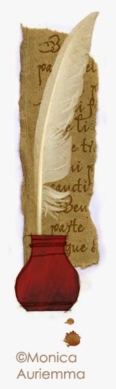 """Illustrazione.La lingua nel Medioevo. Monica Auriemma.""""Leggo perchè..."""" Mondadori Education"""