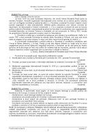 Subiecte rezerva istorie bacalaureat 2012