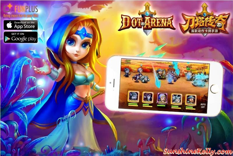Dot Arena Games available on iOS Store and Google Play, Dot Arena Cosplay Party in Malaysia by FunPlus, Dot Arena Cosplay Party, Dot Arena Games, RPG Games, Dot Arena FunPlus, Cosplayer, Cosplay party, online games