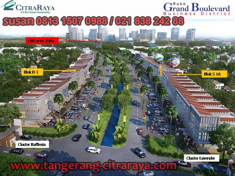 Ruko Grand Boulevard Citra Raya Tangerang