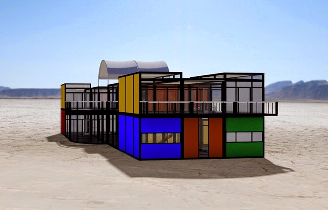 Off grid concepts pawn stars star proposes vegas plaza built from shipping containers - Container homes las vegas ...