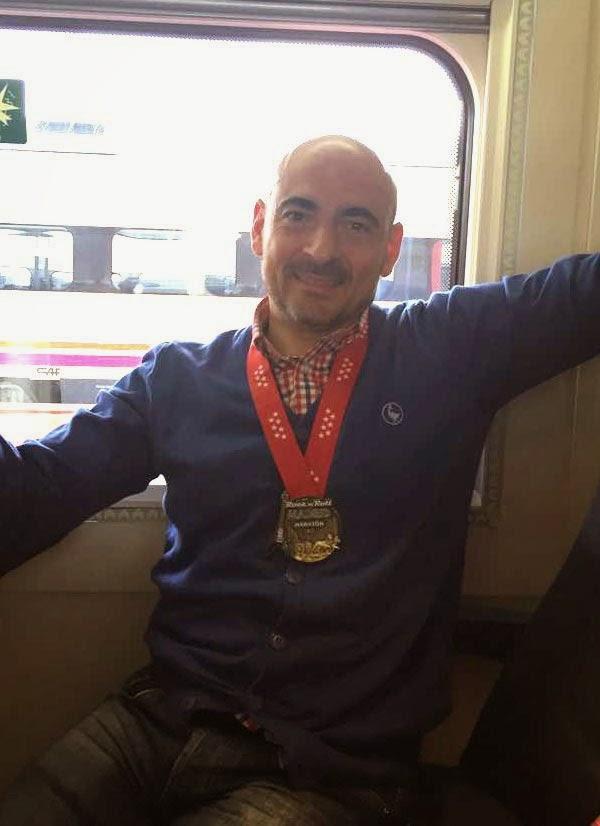 medalla maraton de madrid