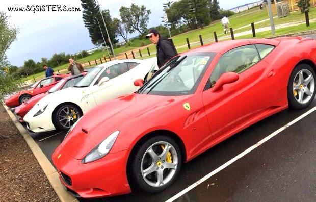 Beautiful Ferrari Convoy