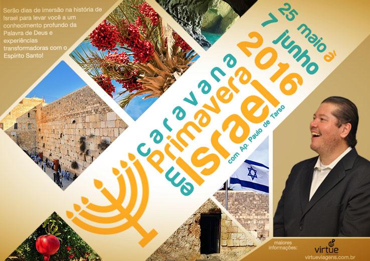 Primavera em Israel