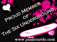 I am a member of Six Underground!